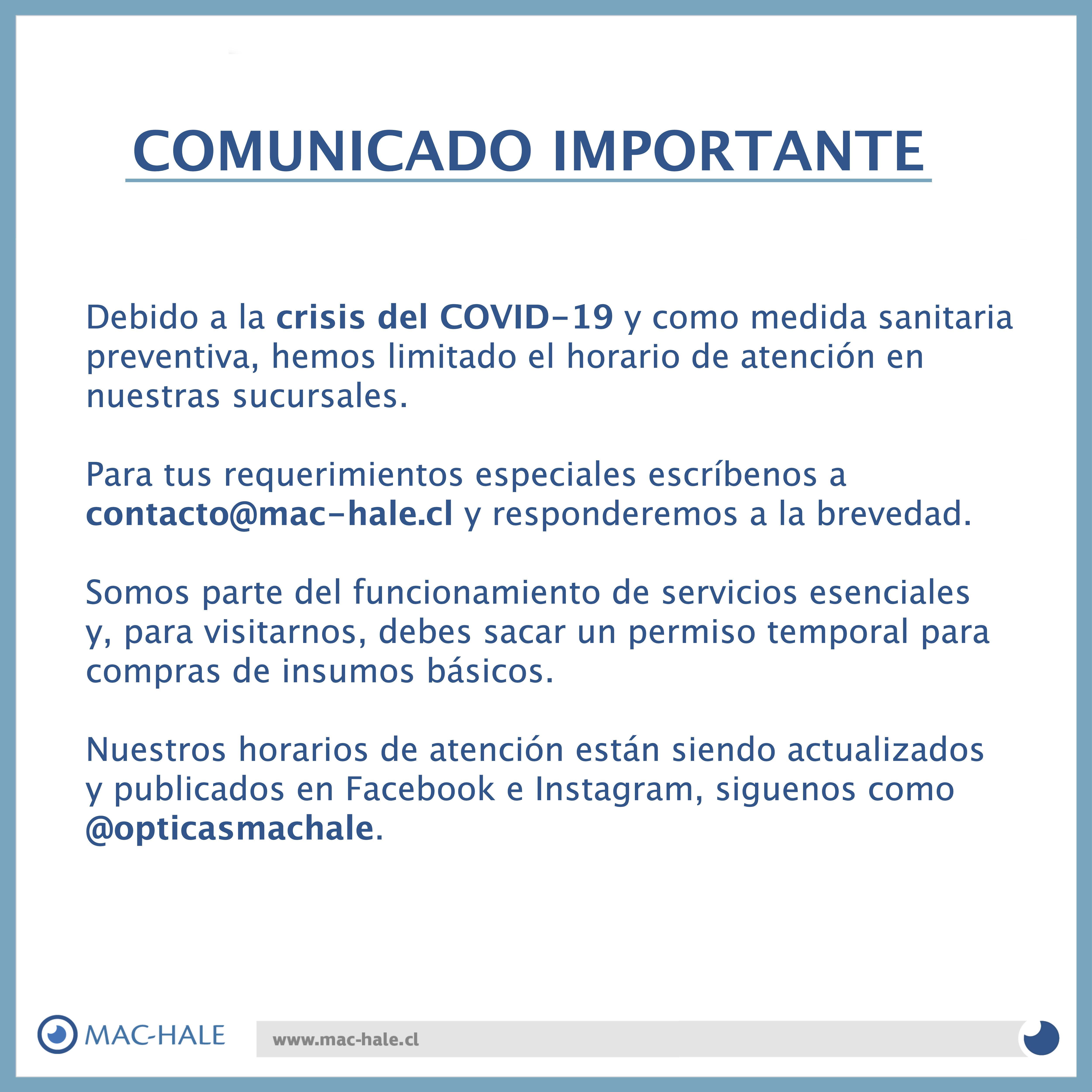 Información MAC-HALE